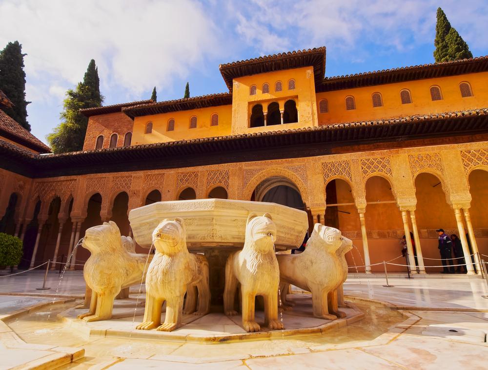 Patio-de-los-leones-alhambra-granada
